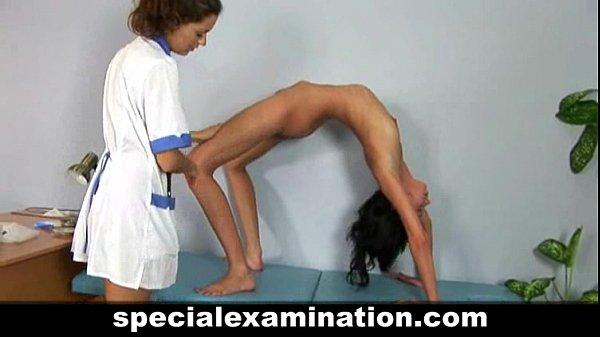 Examen médical pour jeune femme